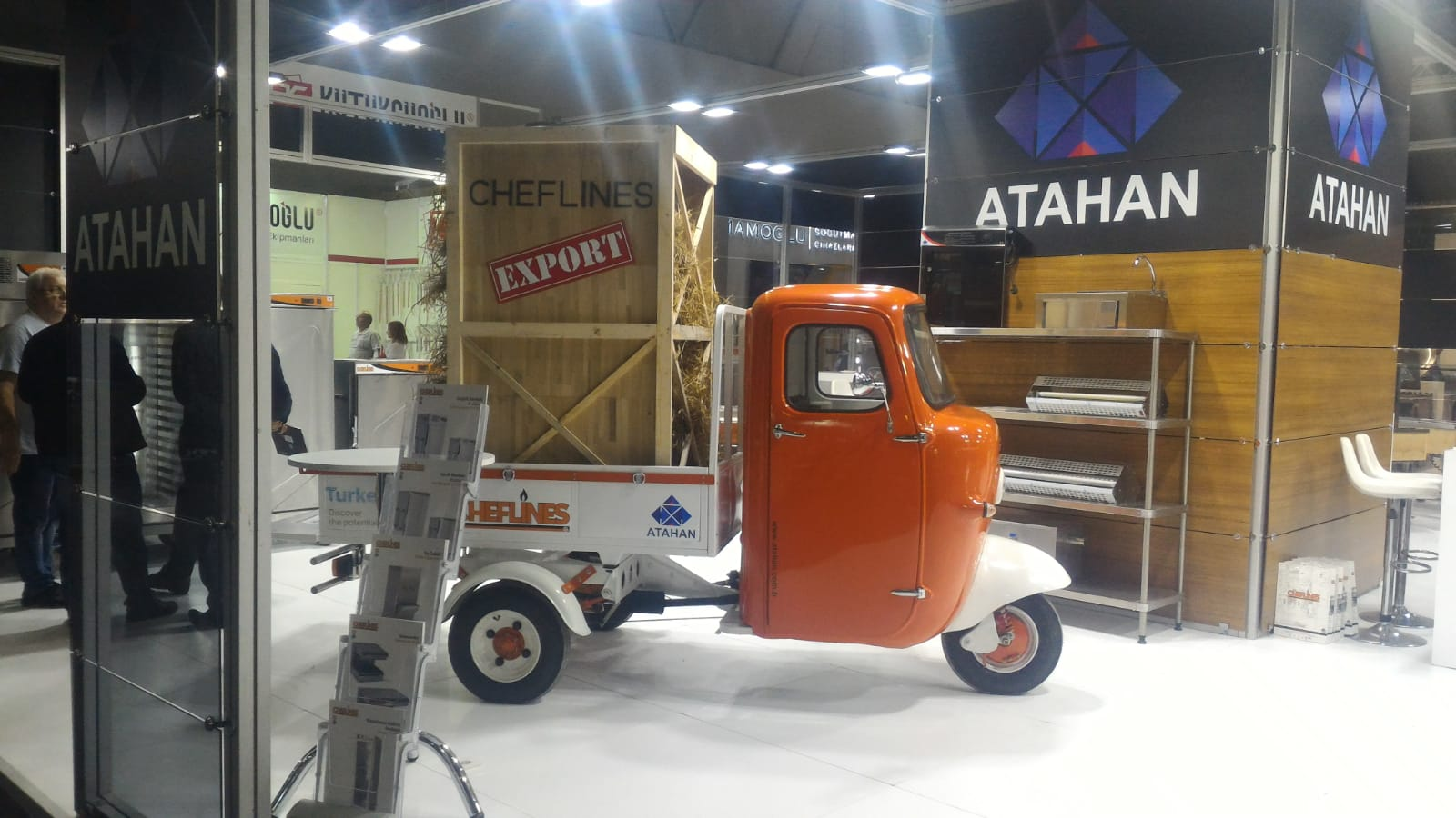 <a href='application-detail/153'>CLICK HERE - Hostech 2018 ISTANBUL TURKEY ATAHAN CHEFLINES STAND   SHOW MORE<a/>