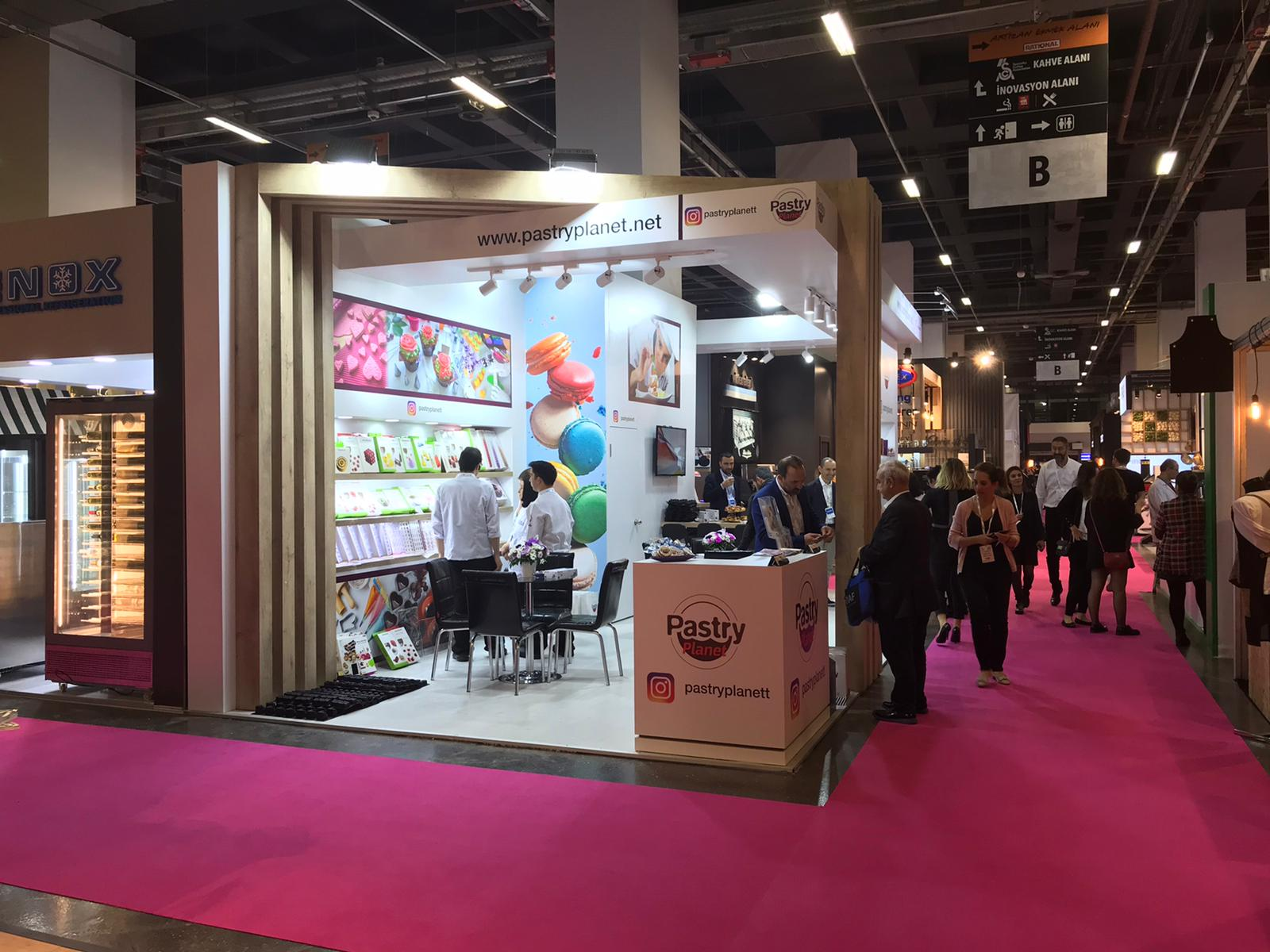 <a href='application-detail/184'>CLICK HERE - SIRHA ISTANBUL 2019 PASTRY STAND   SHOW MORE<a/>