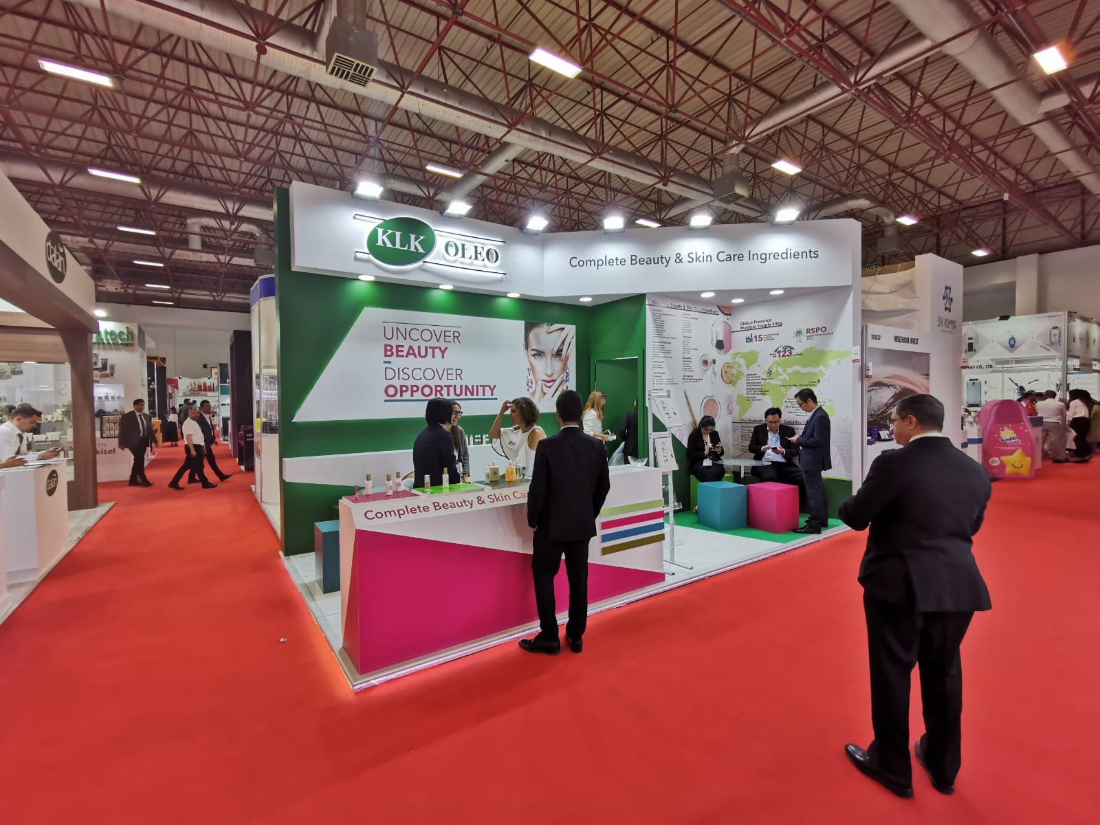 <a href='application-detail/171'>CLICK HERE - BEAUTYEURASIA 2019  ISTANBUL TURKEY KLK STAND   SHOW MORE<a/>