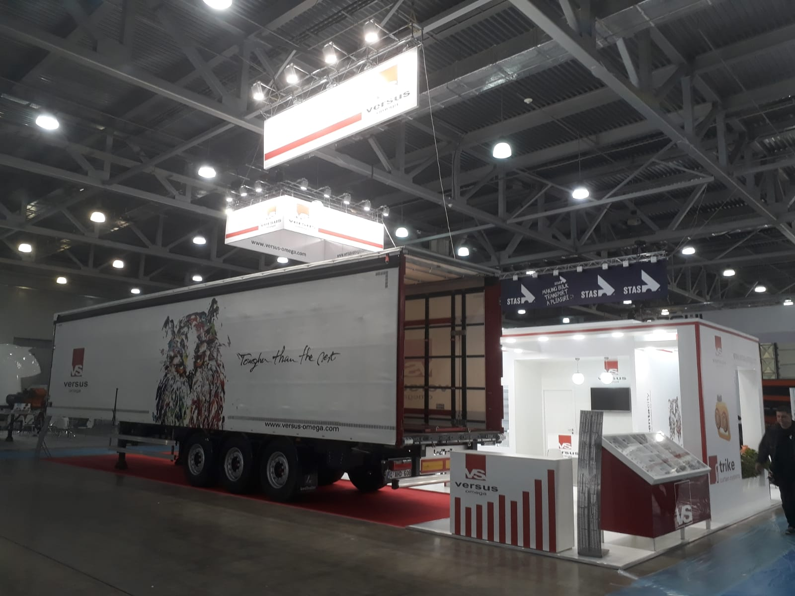 <a href='application-detail/175'>CLICK HERE - COMTRANS 2019 MOSCOW RUSSIA  VERSUS STAND   SHOW MORE<a/>